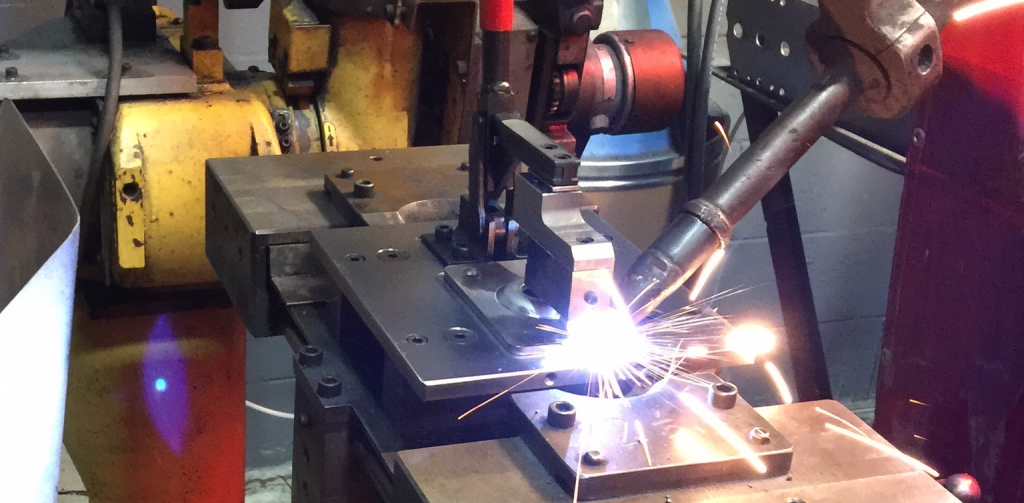 Automated robotic welding at Algood